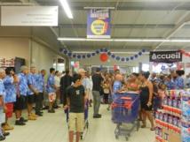 Le 9 novembre 2012, le centre commercial Carrefour de Taravao ouvrait ses portes.