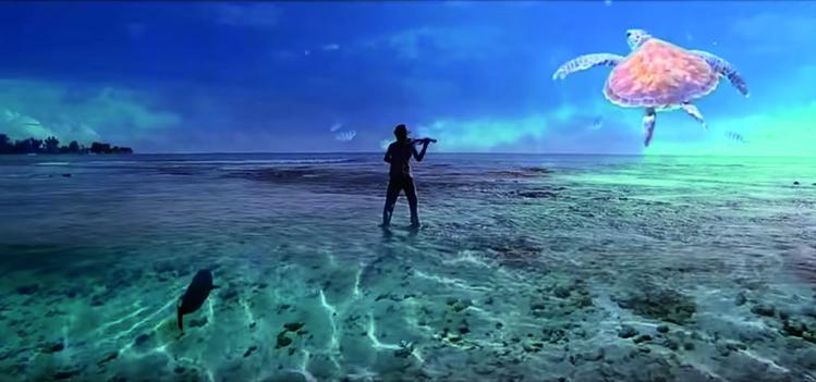 L'intention de l'auteur et compositeur Pheal'n est de promouvoir notre environnement marin ainsi que la langue polynésienne, ici et à l'extérieur.