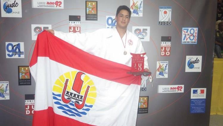 Judo « Coupe Iles de France Minimes » : De l'or pour Ra'irama Holozet, de l'argent pour Poerava Temakeu