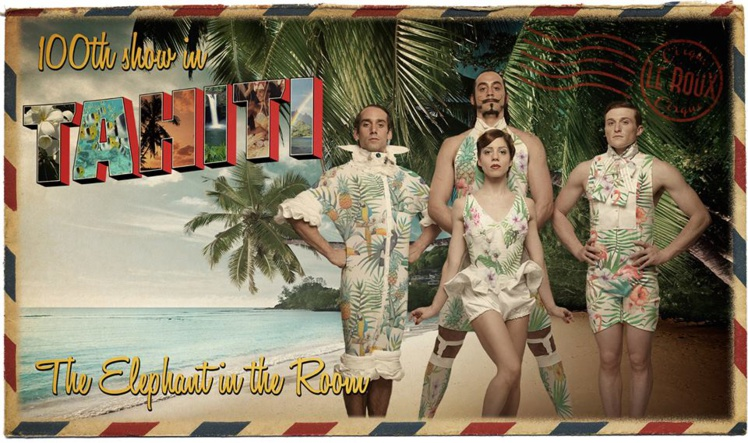 La 100e représentation de cette création du Cirque Le Roux sera jouée samedi, à Tahiti !