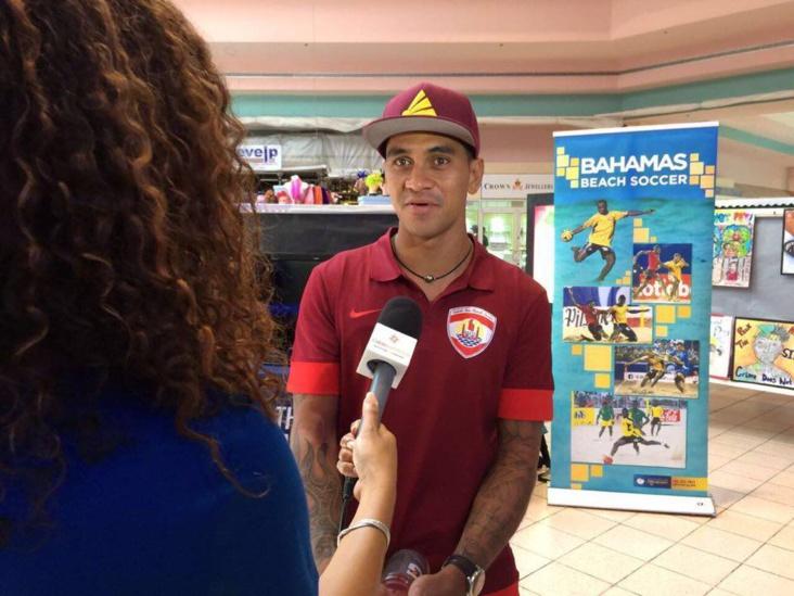 Beachsoccer : Heimanu Taiarui, nouveau coach de la sélection des Bahamas