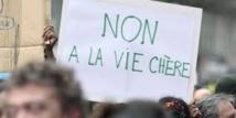 Manifestation dans les rues de Nouméa contre la vie chère