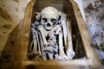 """Dordogne: après expertises, le mystérieux squelette """"Ernest"""" retourne dans son manoir"""