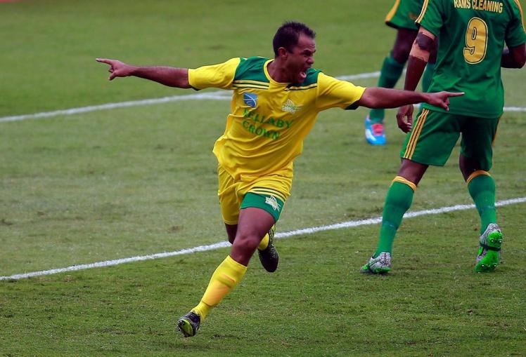 Temarii Tinorua a marqué contre Fidji