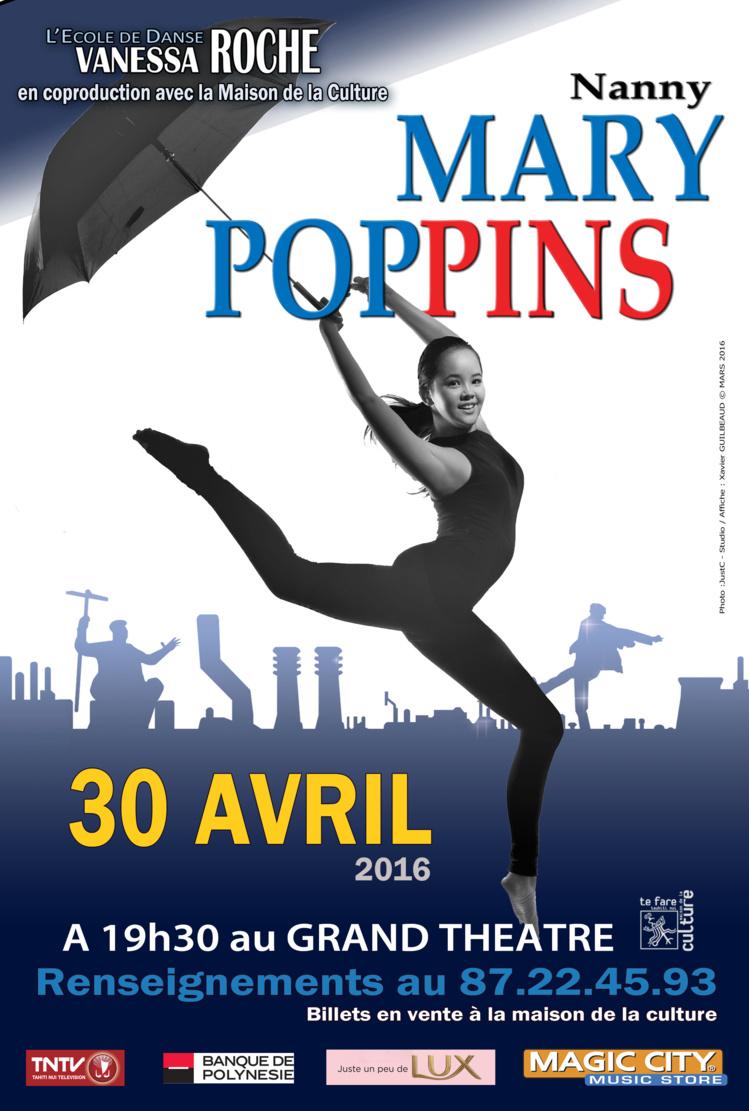 """Vanessa Roche et ses élèves revisitent le conte de """"Mary Poppins"""""""