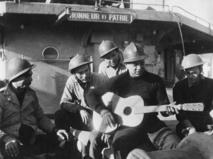 Tableaux vivants et films d'époque pour la mémoire des Tamarii Volontaires