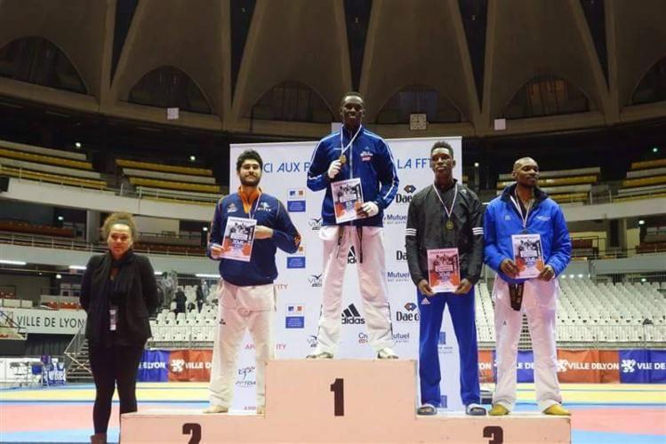 TKD « Chpts de France » : Raihau Chin en Or, Waldeck Defaix en argent, Hina Joly et Remuela Tinirau en bronze