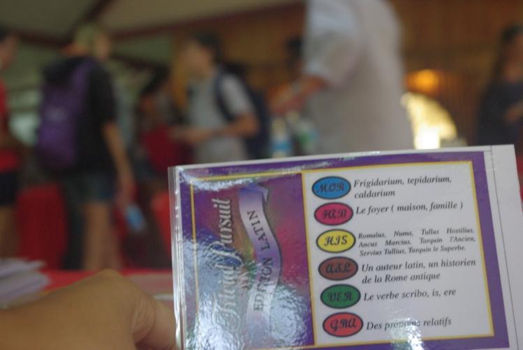 La deuxième édiiton du Trivial Pursuit Latin s'est déroulé mardi à l'Assemblée