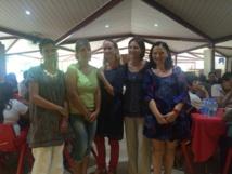 Les professeurs de latin Claire Comte, Claire Aimot, Marie-Dominique Brehin-Soumagne, Anne Nogueira, Anne Jaillon-Dossier, ont organisé la deuxième édition du Trivial Pursuit Latin