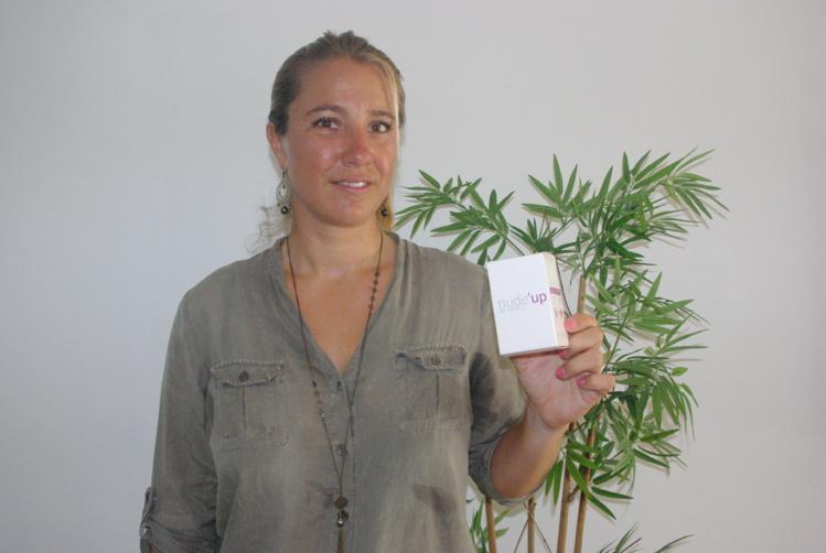 Perrine de Ligondes a créé sa marque Nude'up et vend désormais la coupe menstruelle sur le fenua
