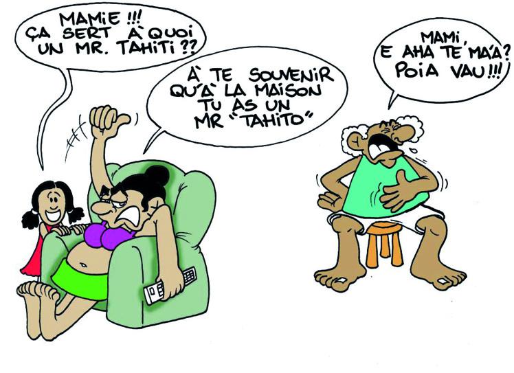 """Mister Tahito"" par Munoz"