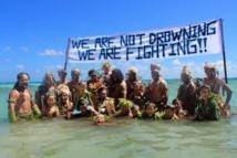 Les îles désireuses que l'accord climat se concrétise
