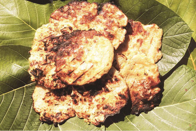 Les pains de uto prêts à être dégustés