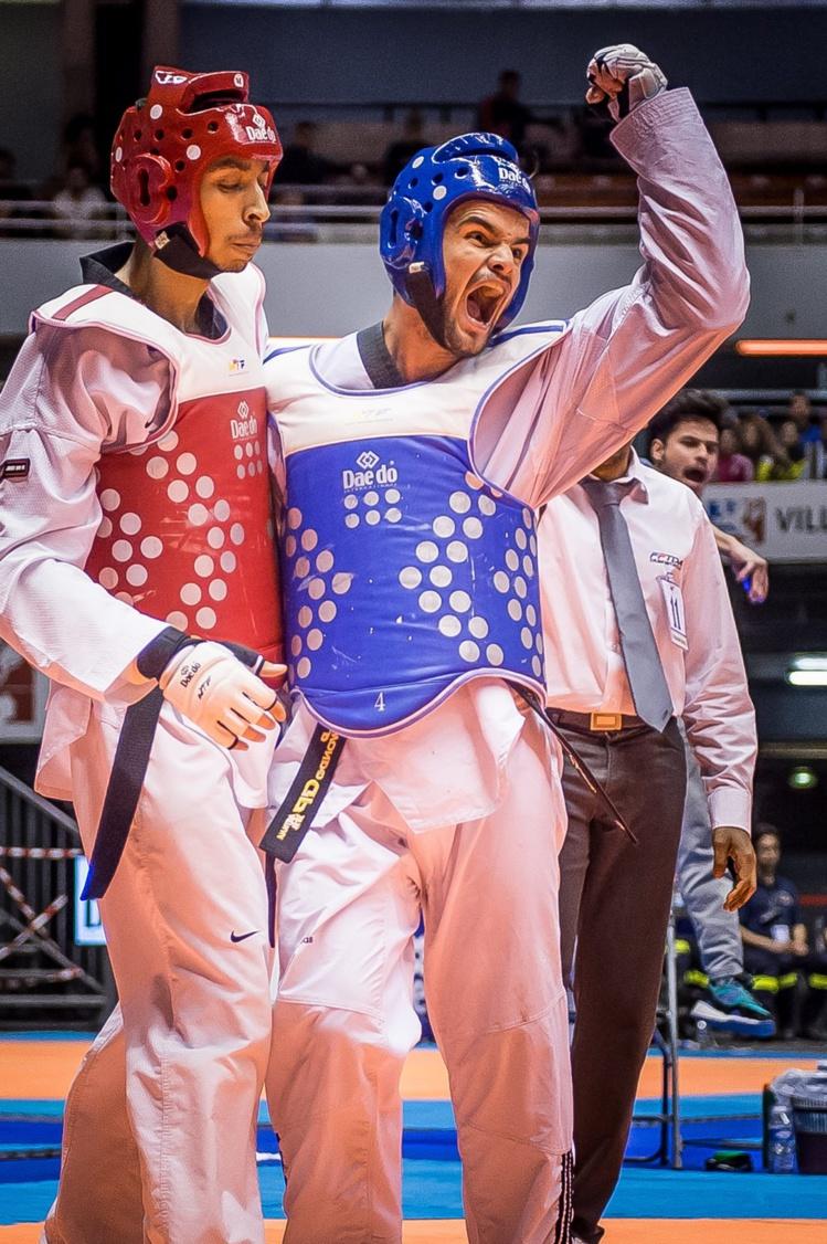 Raihau Chin lors du championnnat de France © Denis Sekretev