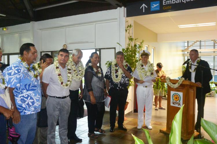 Aéroport de Raiatea : La nouvelle salle d'embarquement a été inaugurée ce jeudi