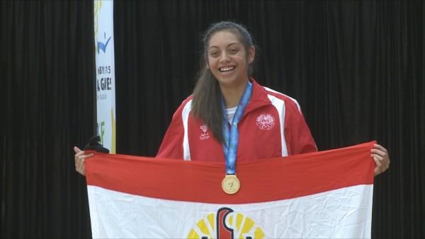 Karate « Chpt France Espoir » : Vaitiare Tehaameamea prend le bronze, focus sur l'athlète