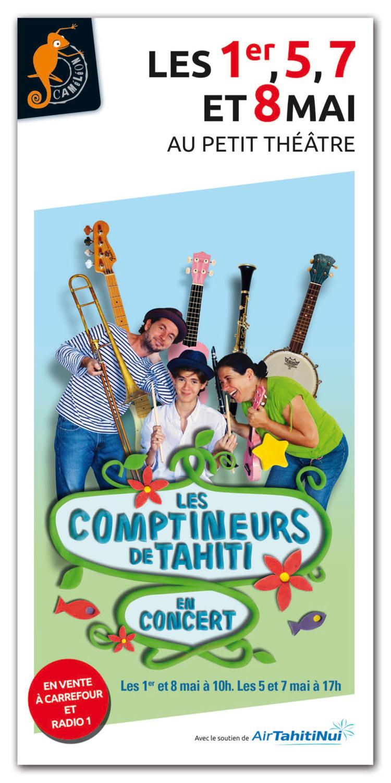 Les Comptineurs de Tahiti sont de retour avec un nouveau spectacle pour toute la famille