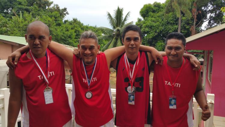 Les membres de l'association Rimahere ont remporté cinq médailles aux jeux Oceania 2016