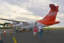 La taxe d'aéroport est perçue à Tahiti Faa'a et dans une vingtaine d'aérodromes territoriaux (Ahe, Arutua, Fakarava, Hao, Hiva Oa, Huahine, Makemo, Manihi, Mataiva, Maupiti, Moorea, Nuku Hiva, Raivavae, Rimatara, Rurutu, Takaroa, Tikehau, Totegegie, Tubuai, Ua Pou)