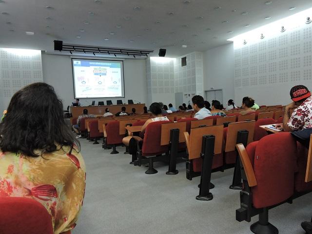 Régis Chang, directeur de la CPS, a présenté vendredi aux membres du syndicat O Oe to oe rima la situation actuelle de la protection sociale généralisée et les pistes de réforme.