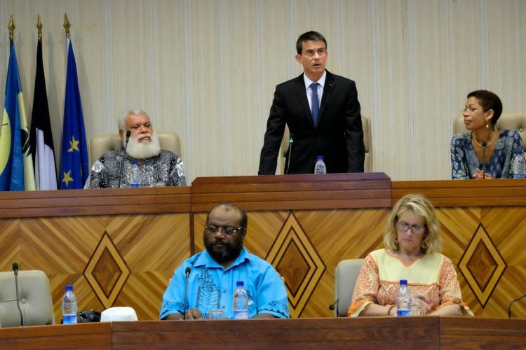 A l'Assemblée de Nouvelle-Calédonie