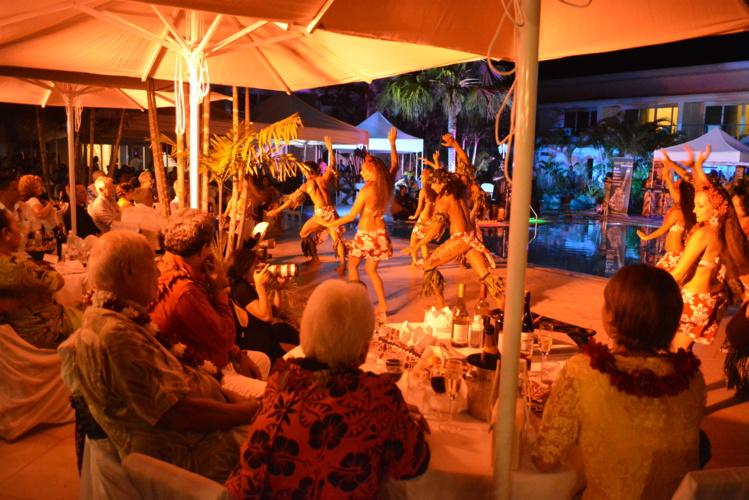 L'inauguration a été célébrée avec des spectacles de danse samoane et tahitienne.
