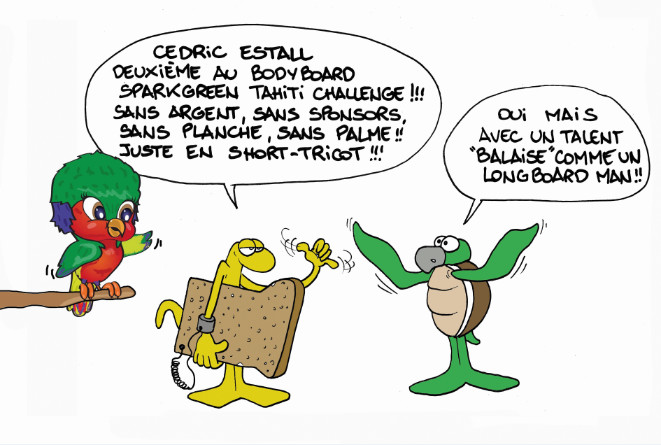 """""""Le Sparkgreen Tahiti Challenge"""" par Munoz"""