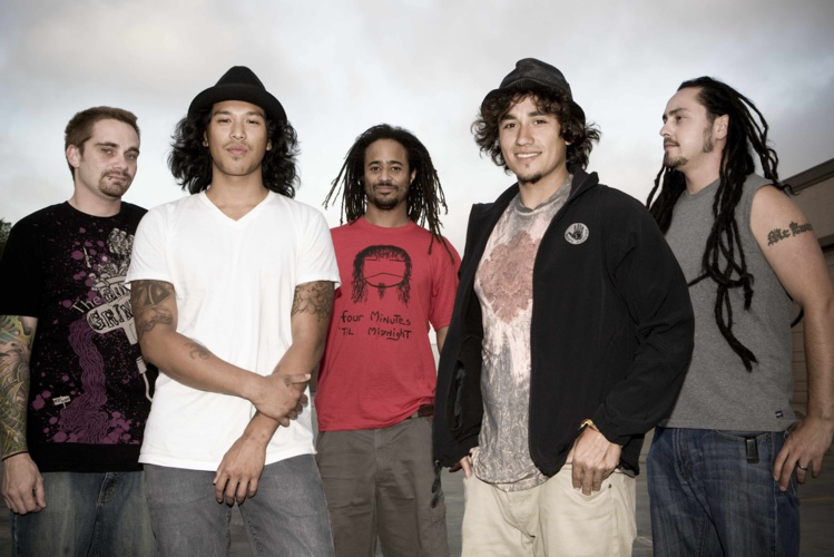 Le groupe californien Tomorrows Bad Seeds est composé de cinq membres. (Photo : DR)