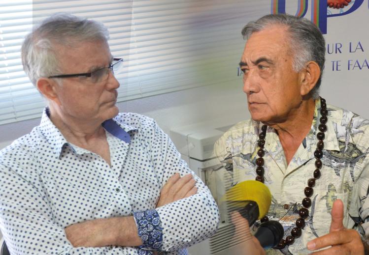 Ecoparc : Dominique Auroy répond aux attaques d'Oscar Temaru