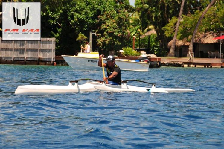 Va'a « Matuatua Ho'e » : Rauhiri Varuahi 1er chez les vétérans + 40 ans