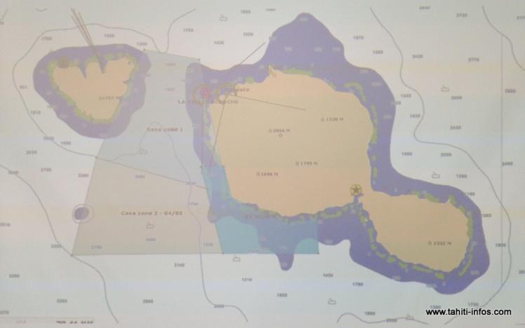 La zone de recherche a été élargie mercredi matin à tout le chenal entre Tahiti et Moorea (Casa) et la frange côtière de Faa'a à Mataiea.