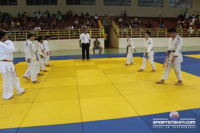 Judo « championnat de Polynésie » : L'E.J.J.P. se taille la part du lion