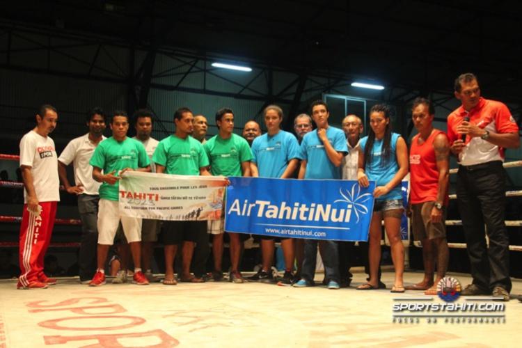 Boxe : Direction Nouvelle Zélande pour les boxeurs tahitiens