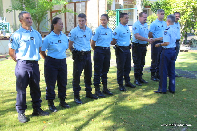"""La gendarmerie en Polynésie française compte désormais 183 officiers de police judiciaire dans ses rangs, sur environ 300 personnels. """"Un très bon ratio"""" se félicite le colonel Pierre Caudrelier."""