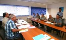 Réunion du conseil d'administration de la société d'économie mixte du port de pêche de Papeete (S3P).