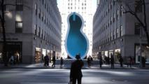 Une piscine verticale en forme d'oreille de Van Gogh exposée à New York