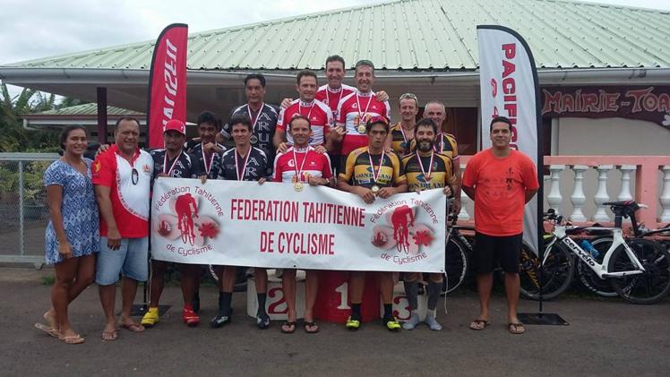 Cyclisme « Chpt Polynésie CLM » Pirae est le nouveau champion !