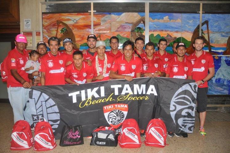 Beach soccer – USA Cup : Nouvelle aventure pour les Tiki Tama