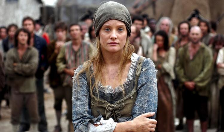 Mary Bryant, telle qu'elle a été mise en scène en Australie en 2005 pour une série télé.