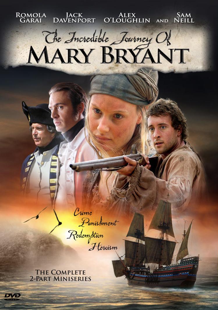 """L'affiche de la série australienne retraçant l'odyssée de Mary. Son époux était joué par le comédien Alex O'Loughlin, devenu célèbre dans le rôle de Steve McGarrett, le patron du service """"Hawai Five 0""""."""