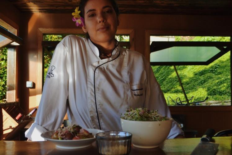 Kirahu Chavez, Des Bains de Paris au Centre Vaima de Tahiti