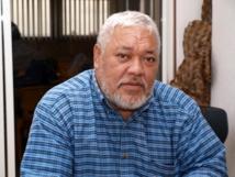 Le maire de la commune de Hikueru, Raymond Tekurio, exerce ses fonctions depuis 1989 (Photo SPCPF)