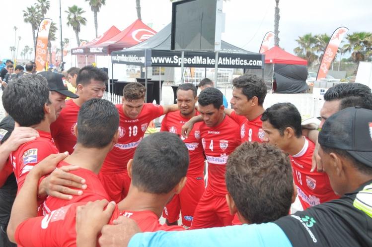 Beach Soccer – USA Cup : Les Tiki Tama sortis prématurément