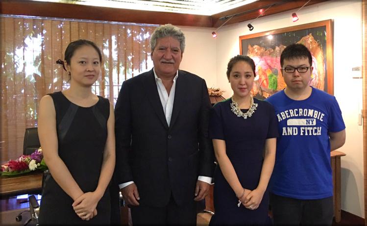 Bouissou reçoit la responsable des investissements du HNA Tourism Group Ltd