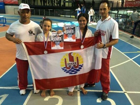 Tae Kwondo « Coupe de France » : Trois médailles pour Tahiti