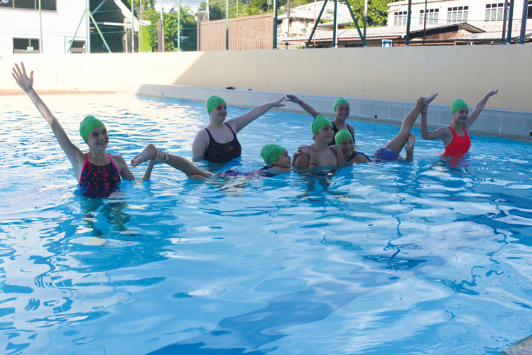 IMUA Natation ouvre une section natation synchronisée