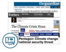Les articles sur le climat à l'épreuve de la vérification scientifique