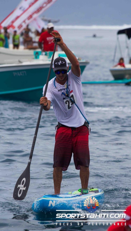 Portrait « SUP » : Titouan Puyo, des racines Polynésiennes