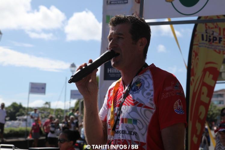 Benoit Rivals, président du Vélo Club de Tahiti