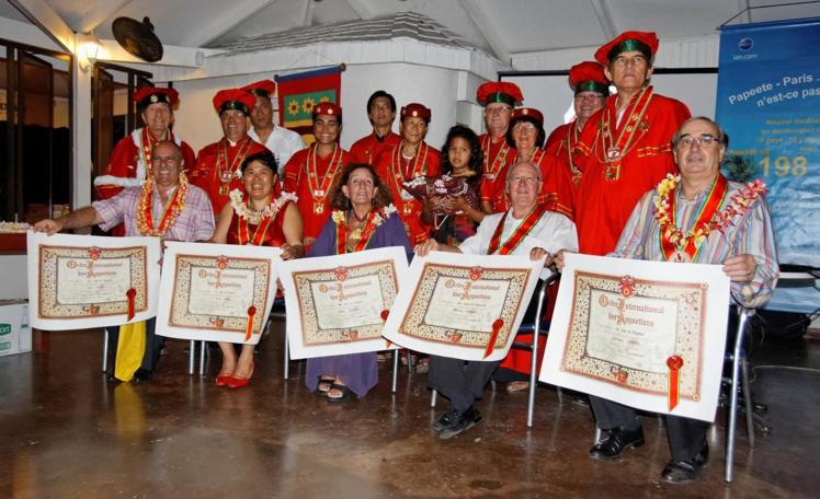 À partir du 5 juin, la commanderie polynésienne des Anysetiers comptera 25 membres. Trois nouveaux seront intronisés lors du grand chapitre magistral.